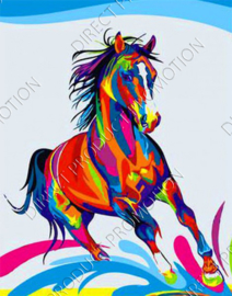 "Diamond painting ""Colorful horse"""