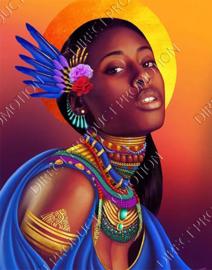 """Diamond painting """"Surinamese girl"""""""