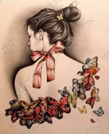 "Diamond painting ""Butterfly woman"""