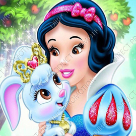 "Diamond painting ""Snow white"""