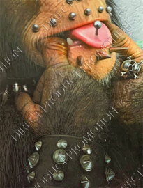 "Diamond Painting ""Pierced monkey"""