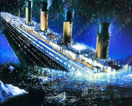 "Diamond Painting ""Titanic"""