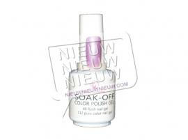 Soak-Off Gellak (not sticky): 2 stuks