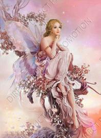 """Diamond painting """"Fairy"""""""