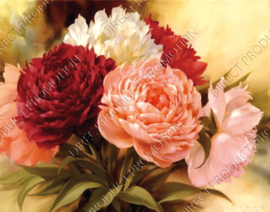 "Diamond painting ""Flowers"""