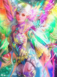 "Diamond painting ""Colorful elf"""