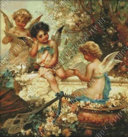 "Diamond painting ""Music angels"""