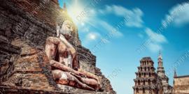 """Diamond painting """"Buddha temple"""""""