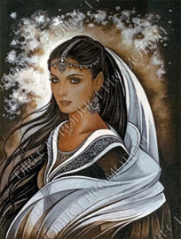 "Diamond painting ""Indisch princess"""