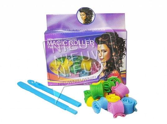 Magic Roller voor halflang haar, M