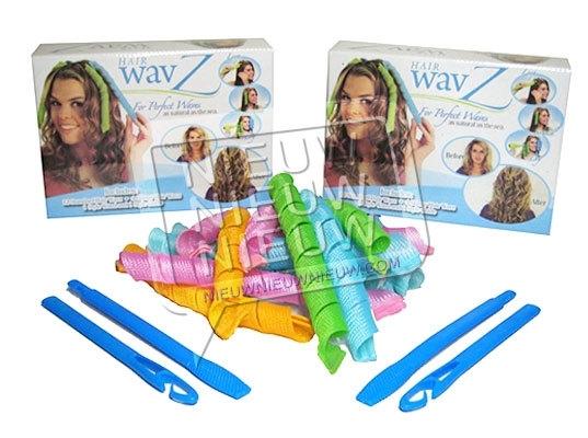 2x Hair Wavz voor extra lang haar, XL