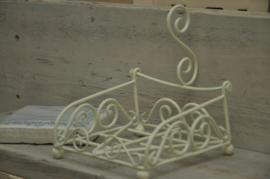 Klein servetten rekje (ivoor)