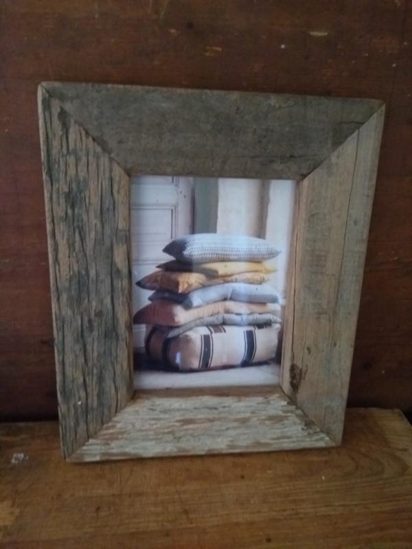 fotolijst van gebruikt hout
