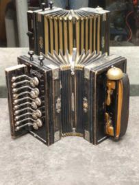 Cremona accordion, Duitsland, rond 1900.