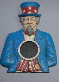 Uncle Sam, aluminium, 20e eeuw.