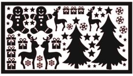 DIY stickers | Kerst 1 XL
