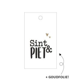 Kadolabel | Sint & Piet