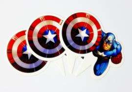 Cupcakeprikker | Super Hero