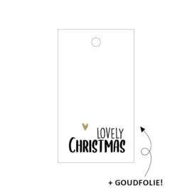 Kadolabel | Lovely christmas