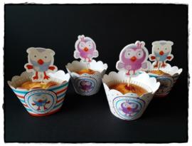Cupcakewikkel | Uiltjes