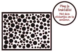 Pimp je traktatie | Stippen stickers