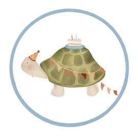 Sticker | Schildpad