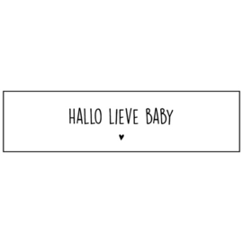 Sticker | Hallo lieve Baby! ♥