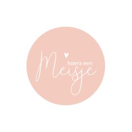 Sticker | Hoera een meisje