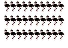Traktatiestickers | Flamingo 20 stuks