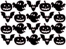 Traktatiestickers | Halloween 20 stuks
