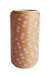 Krullint | Roze dots