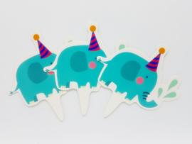 Cupcakeprikker | Olifant