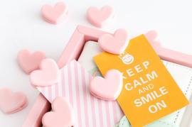 Memo clip | Roze hart