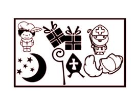 DIY stickers | Sinterklaas