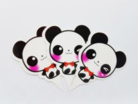Cupcakeprikker | Panda