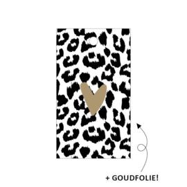 Kadolabel | Hartje goud