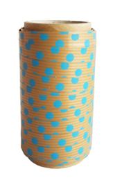 Krullint | Blauwe dots