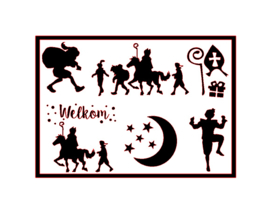 DIY stickers | Sinterklaas 2