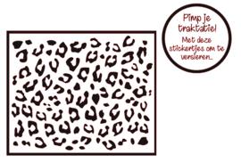 Pimp je traktatie | Panterprint stickers