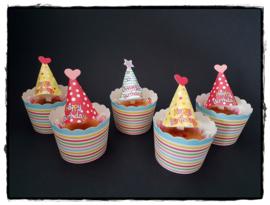 Cupcakeprikker | Happy Birthday