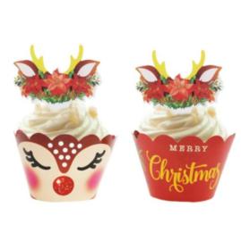 Cupcakewikkel | Kersthertje