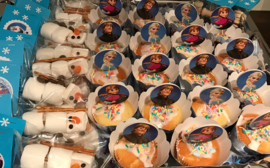 Cupcake wikkels Frozen
