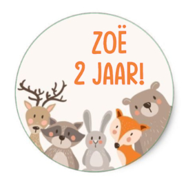 Sticker | Bosdieren