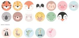 Sticker mix | Dieren