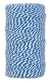 Bakkerstouw | Blauw/wit