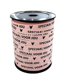 Krullint |  Paperlook Roze speciaal voor jou