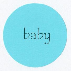 Sticker | Baby Blauw