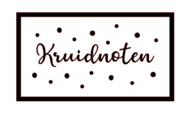 DIY sticker | Kruidnoten