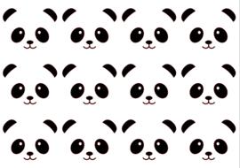 Traktatiestickers | Panda 20 stuks
