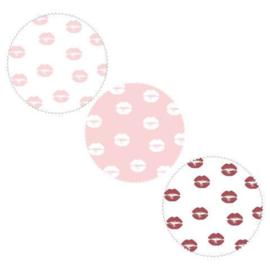 Sticker | Kusjes (3 kleuren)
